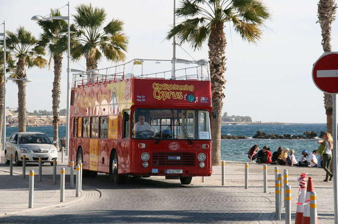 City sightseeing paphos hop on hop off tour in paphos 143960