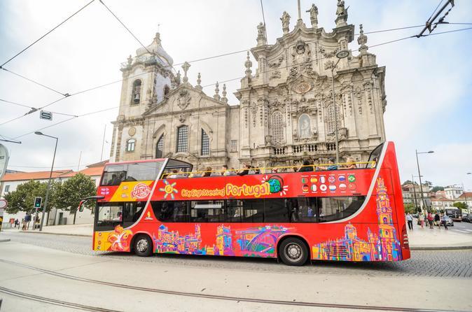 Excursão turística de Porto em ônibus panorâmico