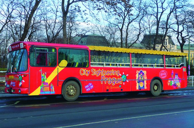 City sightseeing prague hop on hop off tour with optional vltava in prague 113390