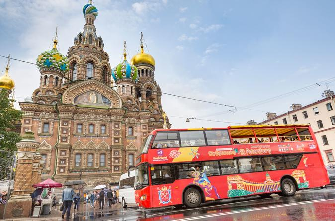 City Sightseeing St Petersburg Hop On Hop Off Tour