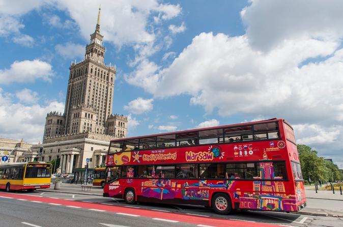 Excursão com várias paradas na cidade de Varsóvia