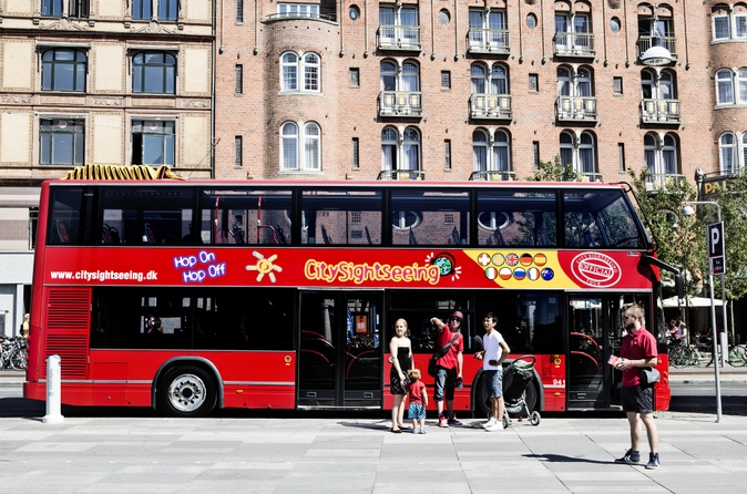 Excursão terrestre por Copenhague: Excursão Turística em ônibus panorâmico pela Cidade de Copenhague