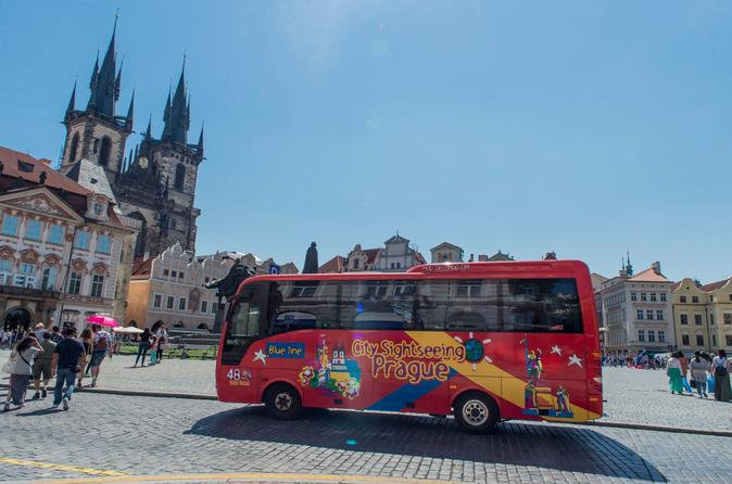 Excursão turística com várias paradas em Praga