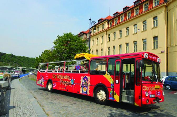 Excursão turística em ônibus panorâmico pela cidade de Praga: Excursões ao Bairro Judeu e ao Castelo de Praga, mais Cruzeiro Vltava