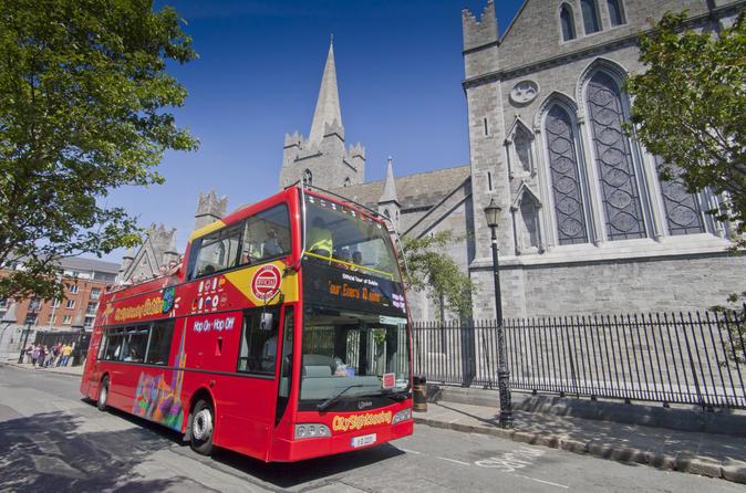 Excursão turística pela cidade de Dublin em ônibus panorâmico