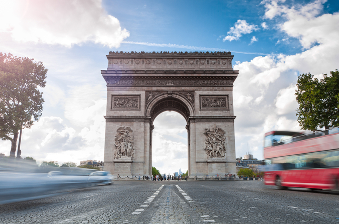 Excursão turística pela cidade de Paris em ônibus panorâmico