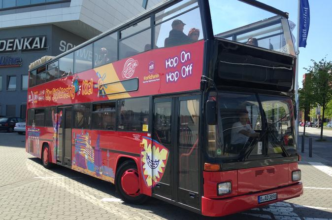 Kiel city sightseeing hop on hop off tour 24 hour ticket in kiel 336401