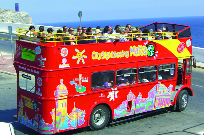 Malta shore excursion city sightseeing malta hop on hop off tour in valletta 185035