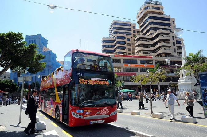 Tenerife Shore Excursion: City Sightseeing Santa Cruz de Tenerife Hop-On Hop-Off Tour