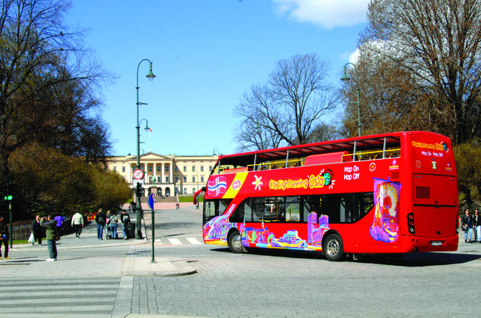 Walexcursie Oslo: Hop-on hop-off stadstour door Oslo