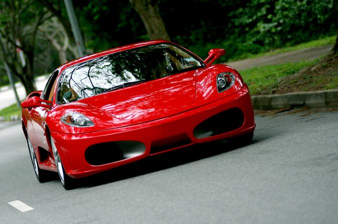 Self-Drive Ferrari Sports Car Experience for Two with Gourmet Lunch from Archerfield