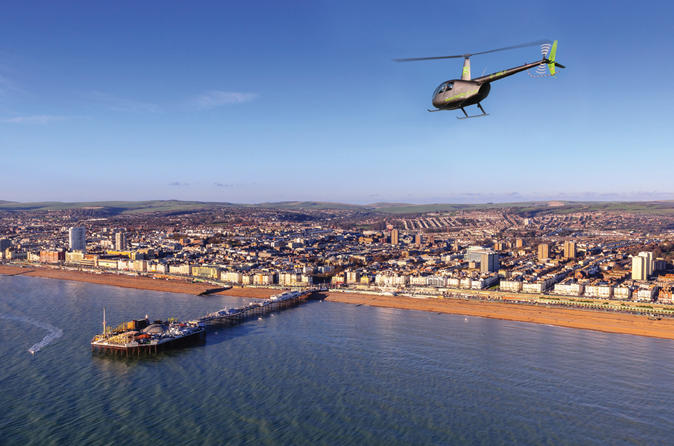 The brighton quickie a private 20 minute helicopter tour of brighton in brighton 286464