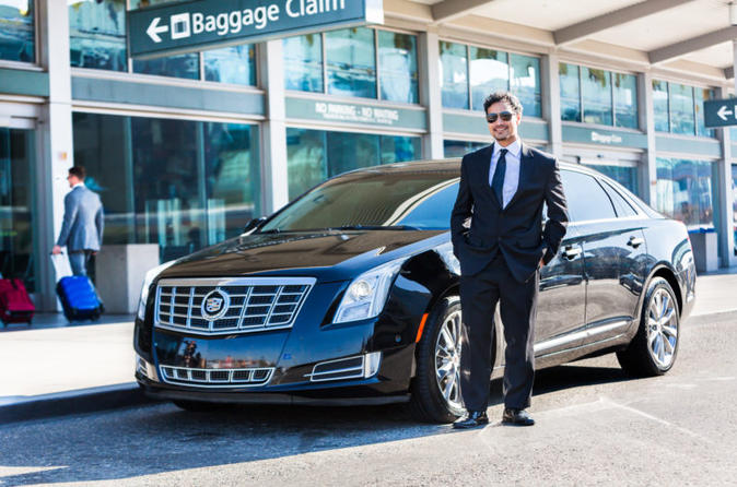 Private Arrival Transfer: San Diego International Airport to San Diego Hotels by Sedan