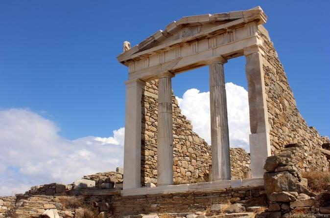 Half day guided tour to delos archaeological site in m konos 366483