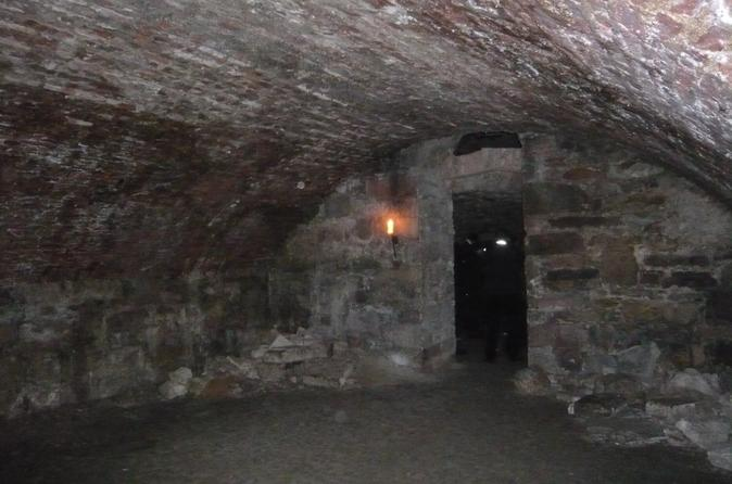 Excursão a pé histórica pelas galerias subterrâneas de Edimburgo