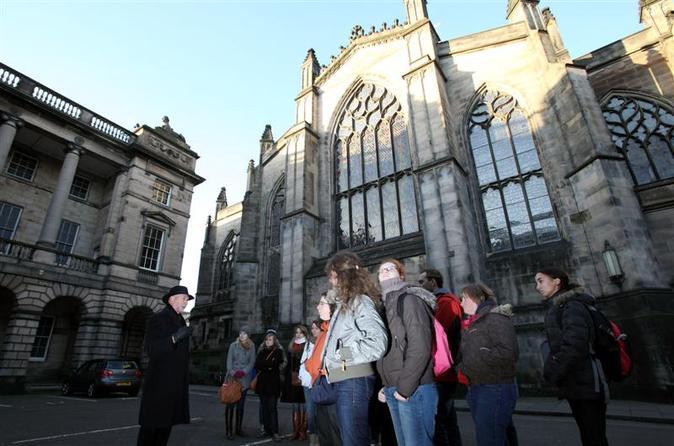 Excursão histórica a pé por Edimburgo incluindo o ingresso Evite as Filas para o Castelo de Edimburgo