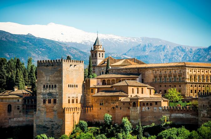 Alhambra: Private Tour ab Malaga