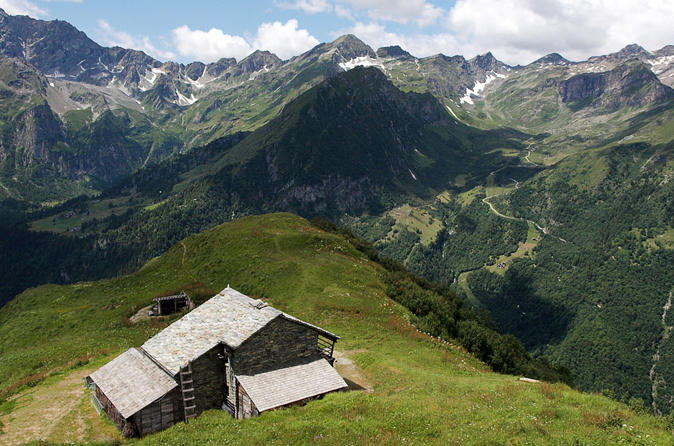 Trekking mount rosa range day tour from arona in lake maggiore 299141