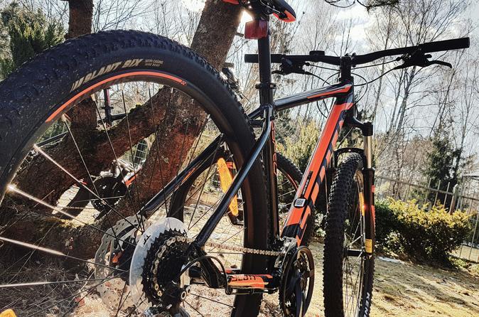 Mountain bike tour belmontas in vilnius 573082