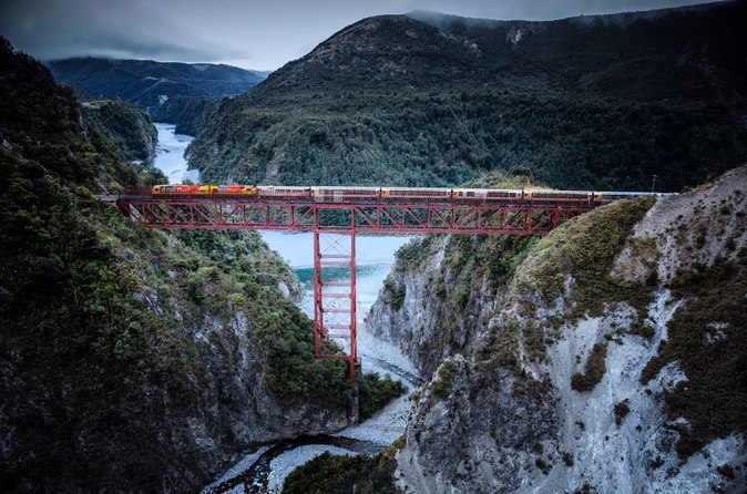 Arthur's Pass Day Tour including TranzAlpine Express Train from Christchurch