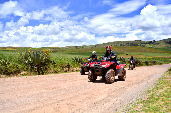 Excursão com ATV para Moray, Maras e as planícies de sal no Vale Sagrado, saindo de Cusco