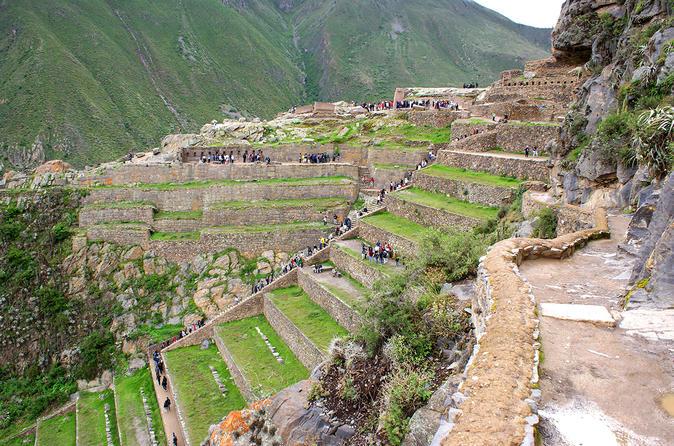Excursão de dia inteiro ao Vale Sagrado Pisac, Ollantaytambo e Chinchero