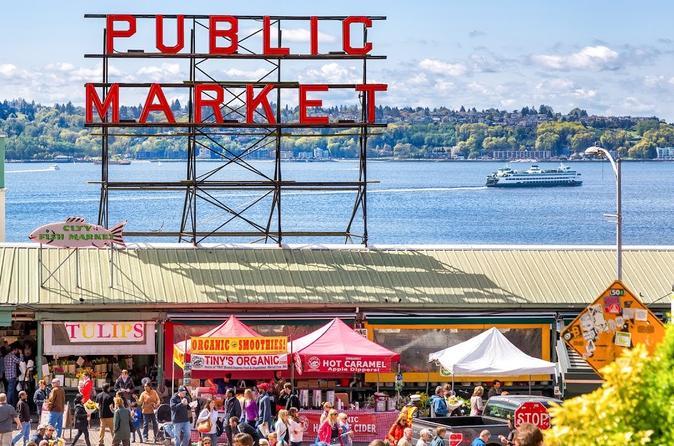 Exclusivo da Viator: Excursão gastronômica de acesso antecipado do Mercado Pike