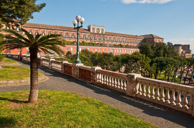 Excursão pela costa de Nápoles: passeio turístico de meio dia pelas cidades de Nápoles e Pompeia