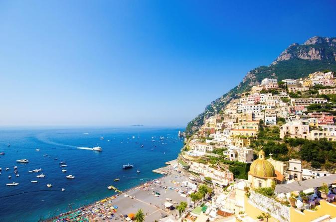 Excursão pelo litoral de Nápoles: viagem independente de um dia a Sorrento e Costa Amalfitana, partindo de Nápoles