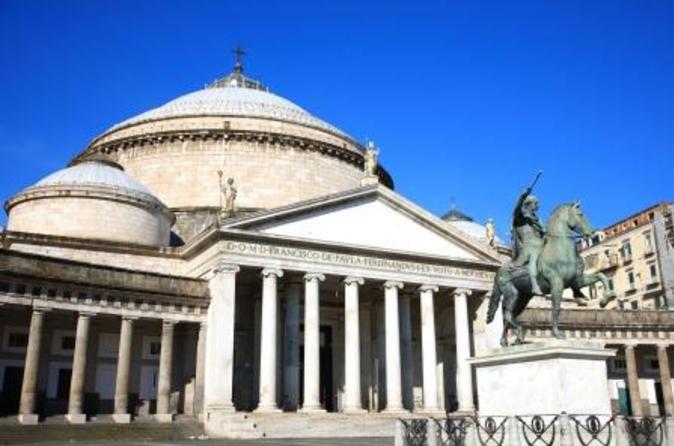 Excursão turística de meio dia por Nápoles e Pompeia