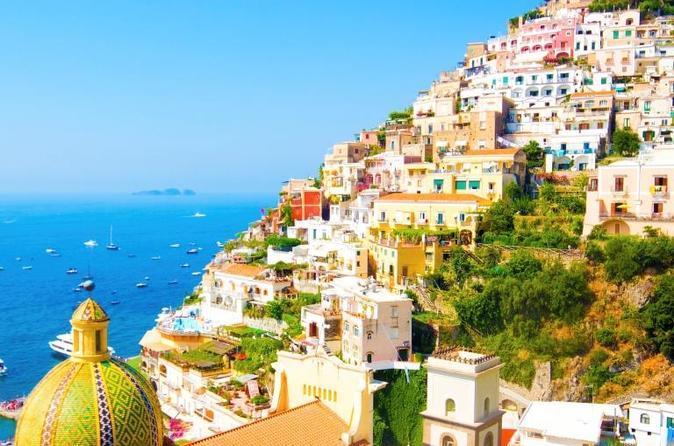 Viagem independente de um dia a Sorrento e Costa Amalfitana, partindo de Nápoles