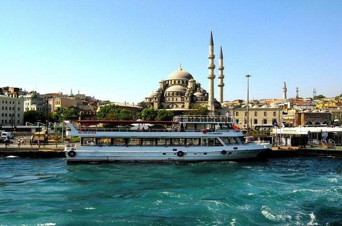 Private Half Day Spice Bazaar Walking Tour Including Bosphorus Cruise