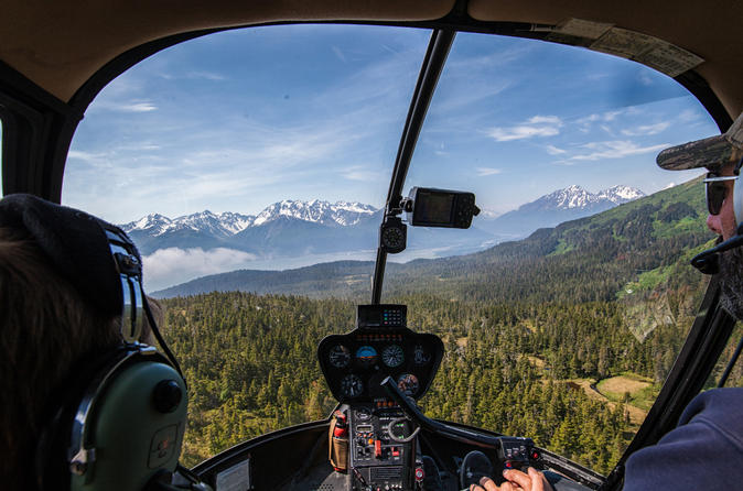 Extended length helicopter access glacier hiking in seward 288830