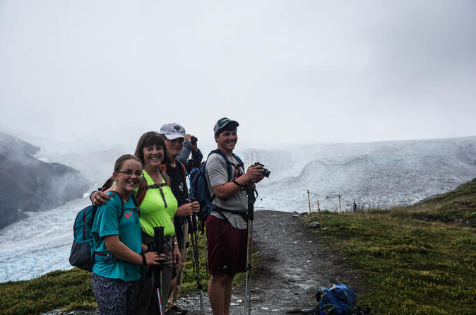Guided Harding Icefield Trail Hike
