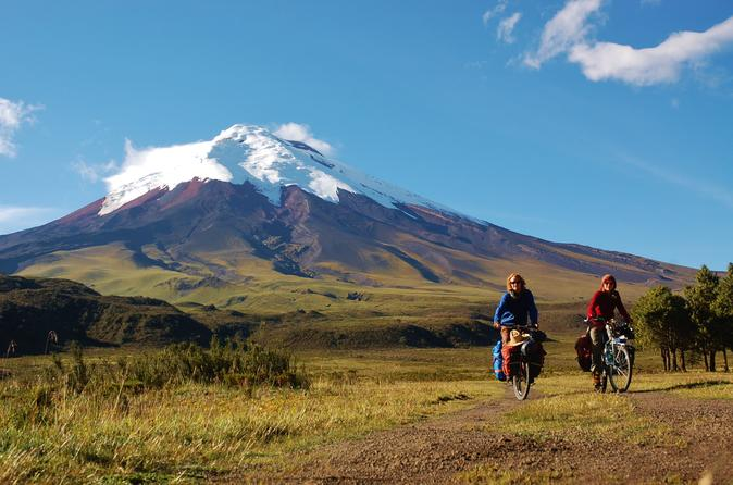 Cotopaxi Hiking and Biking Day Tour from Quito Ecuador, South America