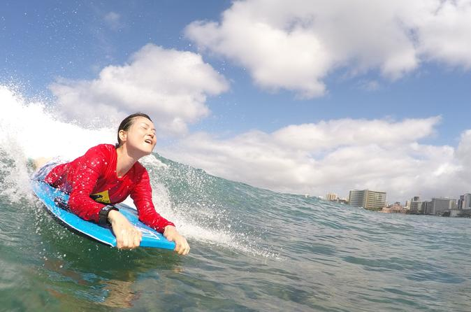 Oahu Bodyboarding Lessons with a Private Instructor Right Outside Waikiki