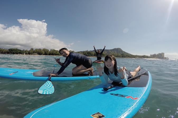 Oahu Stand Up Paddle Lessons - Family Package