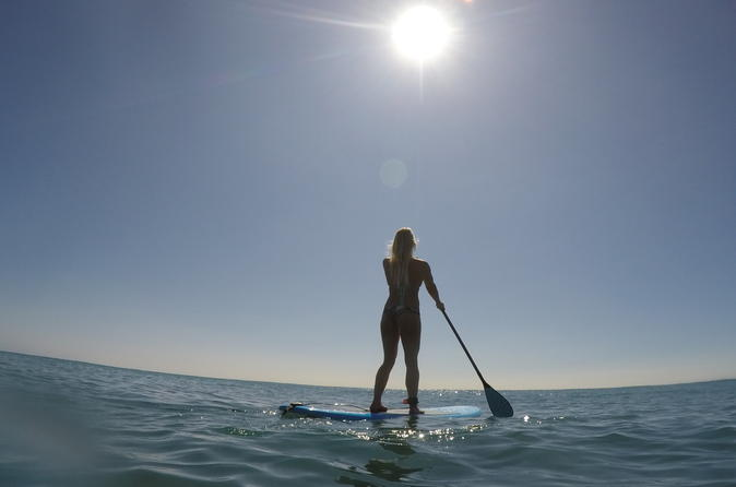 Oahu Stand Up Paddle Lessons with a Private Instructor