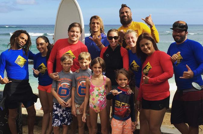 Oahu Surf Lessons - Family Package - Right Outside Waikiki