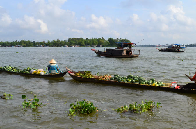 Mekong River Cruise CanTho ChauDoc PhnomPenh 3 days