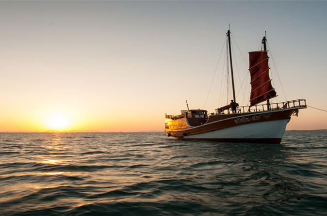 Romantic Sunset Cruise from Ao Nang with BBQ Seafood Dinner