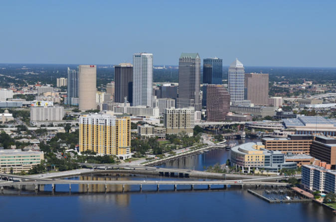 Downtown and Tampa Bay Helicopter Tour