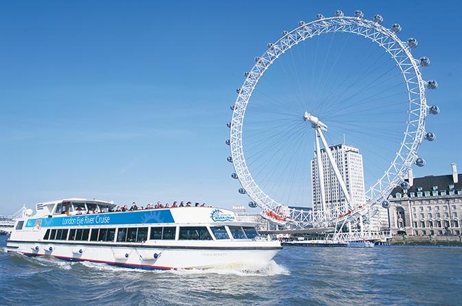 London Eye River Cruise with Optional Standard London Eye Ticket