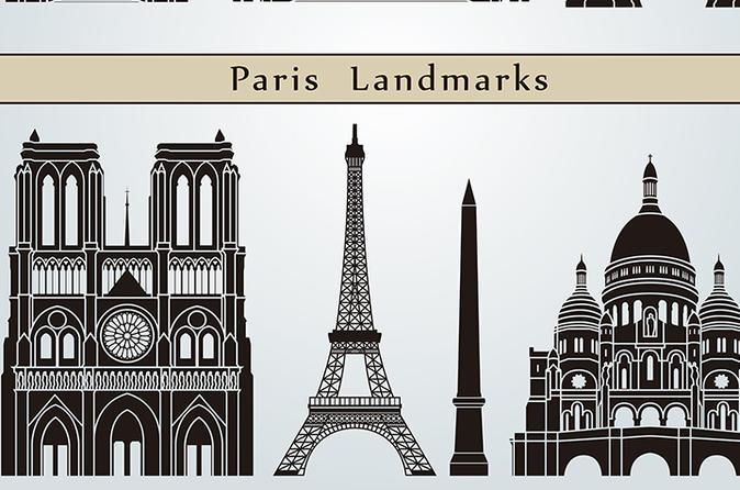 8 hour Paris Guided Tour without Museum Entrances