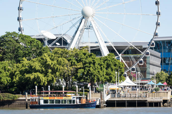 Cruzeiro turístico no Rio Brisbane