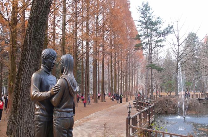 Full Day Nami Island and Garden of Morning Calm Tour from Seoul""
