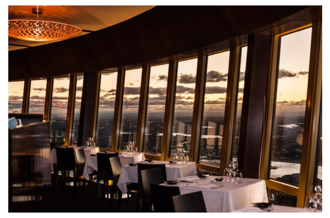 6 Course Degustation with matching Wines Sydney Tower 360 Bar and Dining