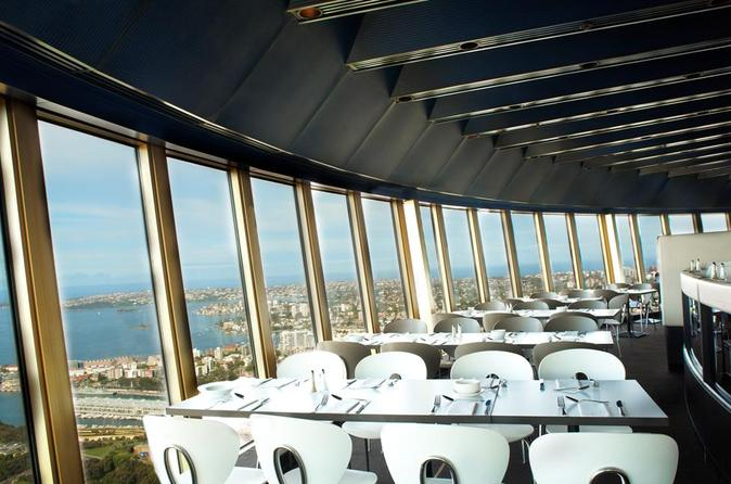 Sydney Sydney Tower Restaurant Buffet Australia, Pacific Ocean and Australia