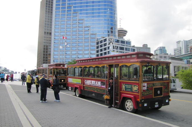 Vancouver trolley hop on hop off tour in vancouver 122441