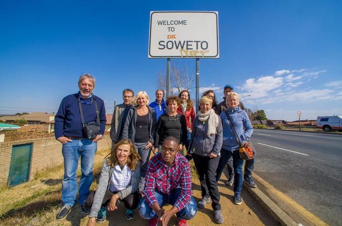 City tour de dia inteiro a Soweto com o Museu do Apartheid